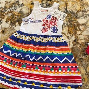 Desigual dress for girls.